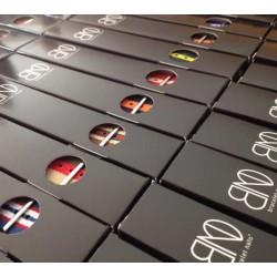 NATO James Bond 20mm Noir Gris