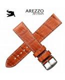 Arezzo DARK-CROCO 20mm crocodile Miel