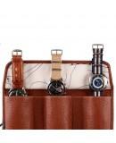 Marmotte 3 montres Ploumanach en cuir marron Avel Men