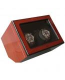 Remontoir Beco Atlantic pour 2 montres automatiques bois de rose
