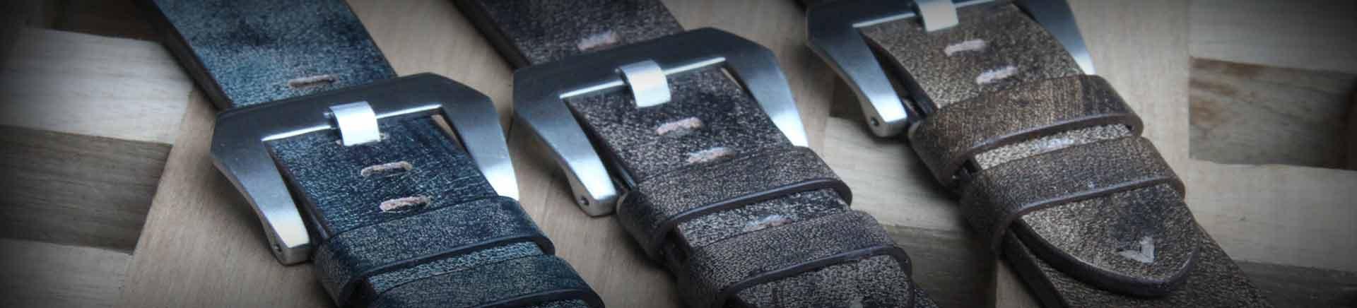 bracelets de montres homme cuir